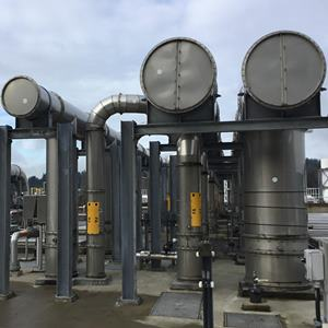 Brightwater wastewater treatment plant using PSP pipe